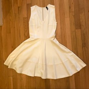dad5917aaf5 Lord   Taylor Dresses - NEW! Lord   Taylor White Skater Mini Dress ...
